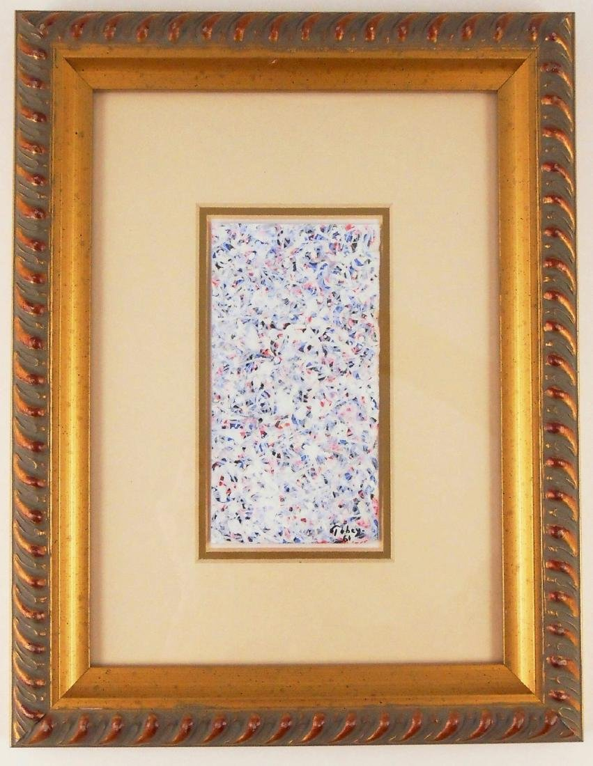 Mark Tobey (1890-1976) Gouache On Paper