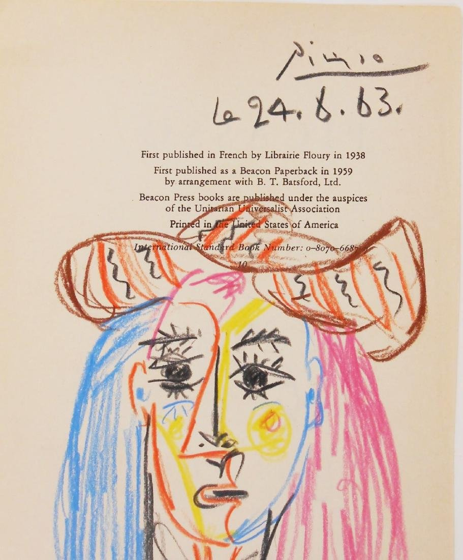 Pablo Picasso (1881-1973) Title Page Drawing - 2