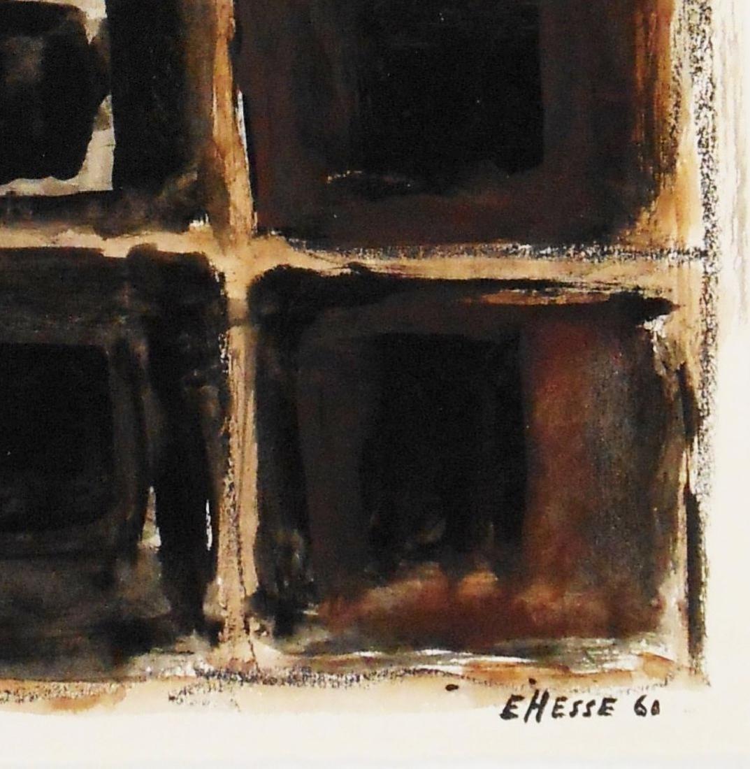 Eva Hesse (1936-1970) Mixed Media Drawing - 2