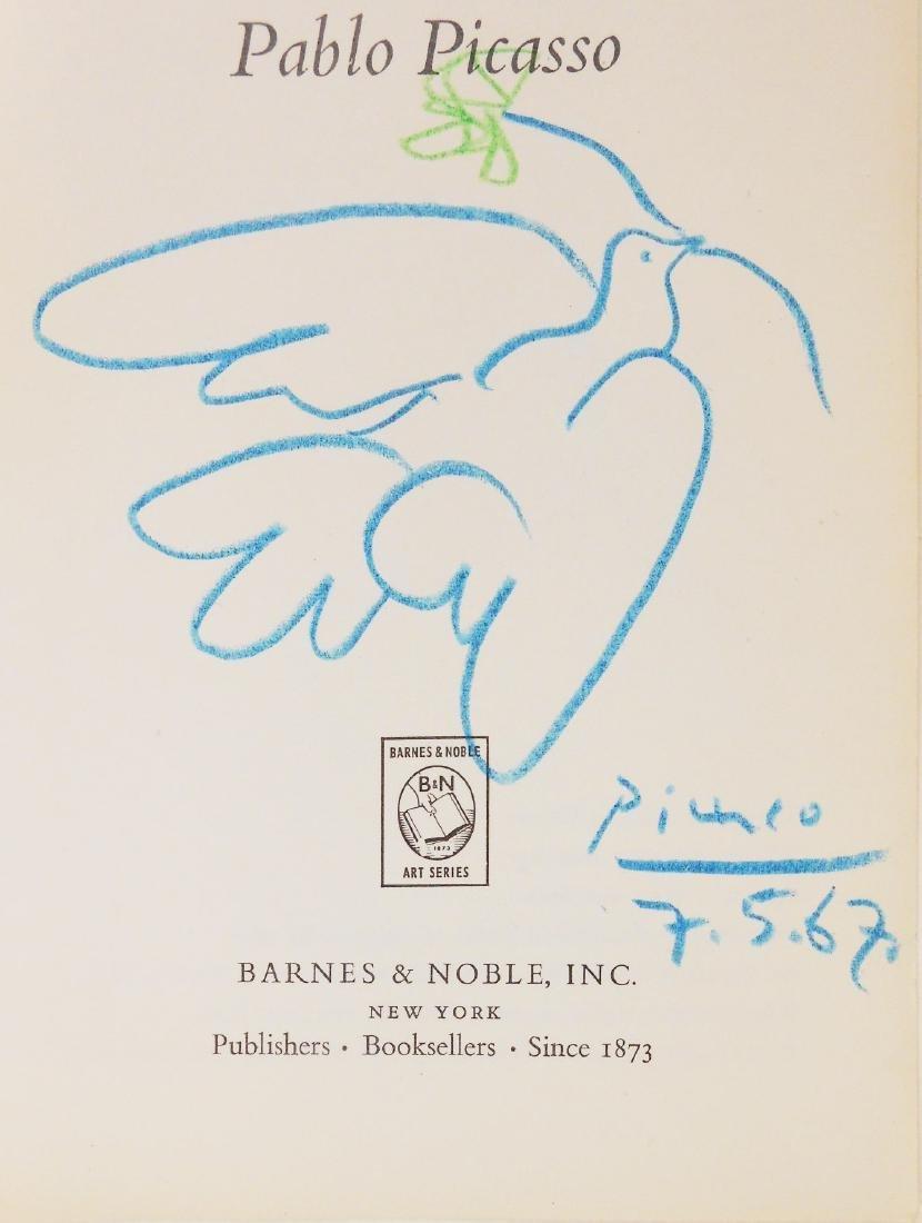 Pablo Picasso (1881-1973) Colored Pencil Sketch - 2