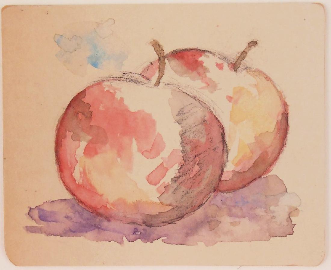 Paul Cezanne (1839-1906) Watercolor