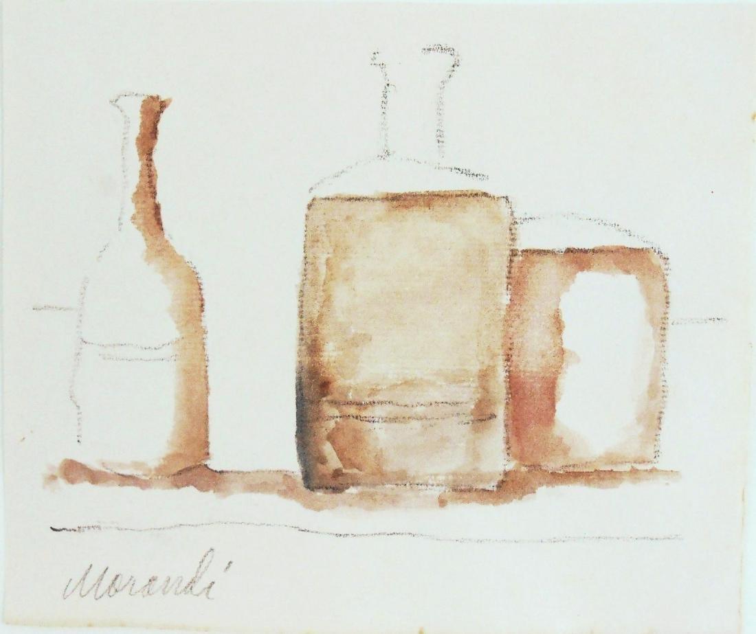 Giorgio Morandi (1890-1964) Watercolor