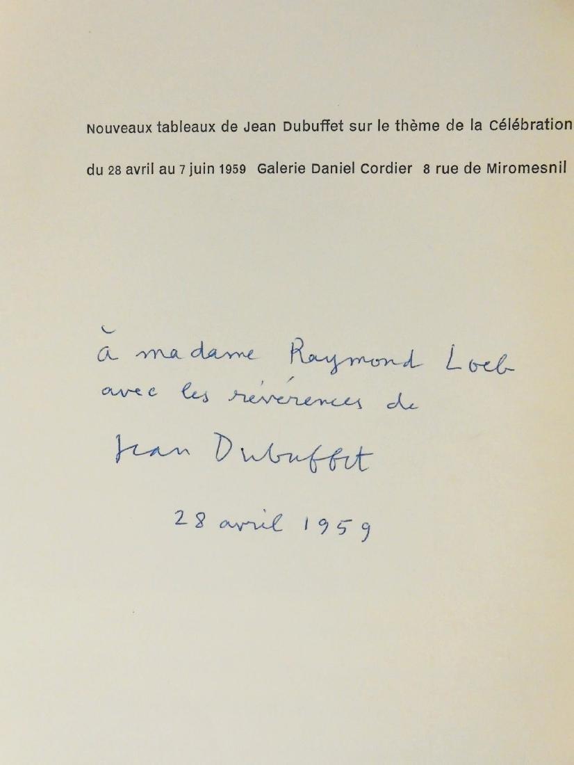 "Jean Dubuffet, ""Celebration du Sol"", Signed Copy - 2"