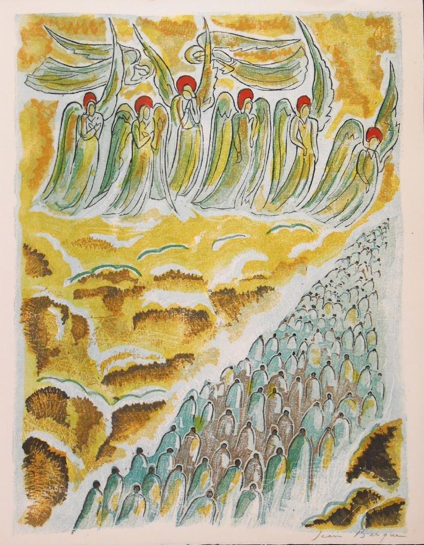 Jean Berque (1896-1954) Original Lithograph