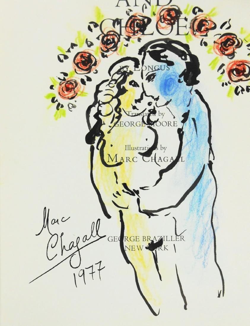 Marc Chagall (1887-1985) Ink & Chalk Drawing - 3