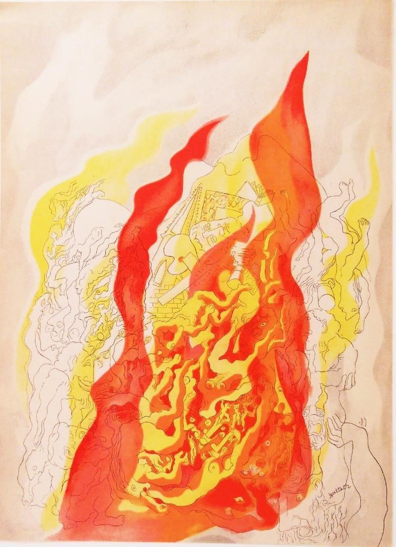 Abraham Rattner (1893-1978) Color Lithograph