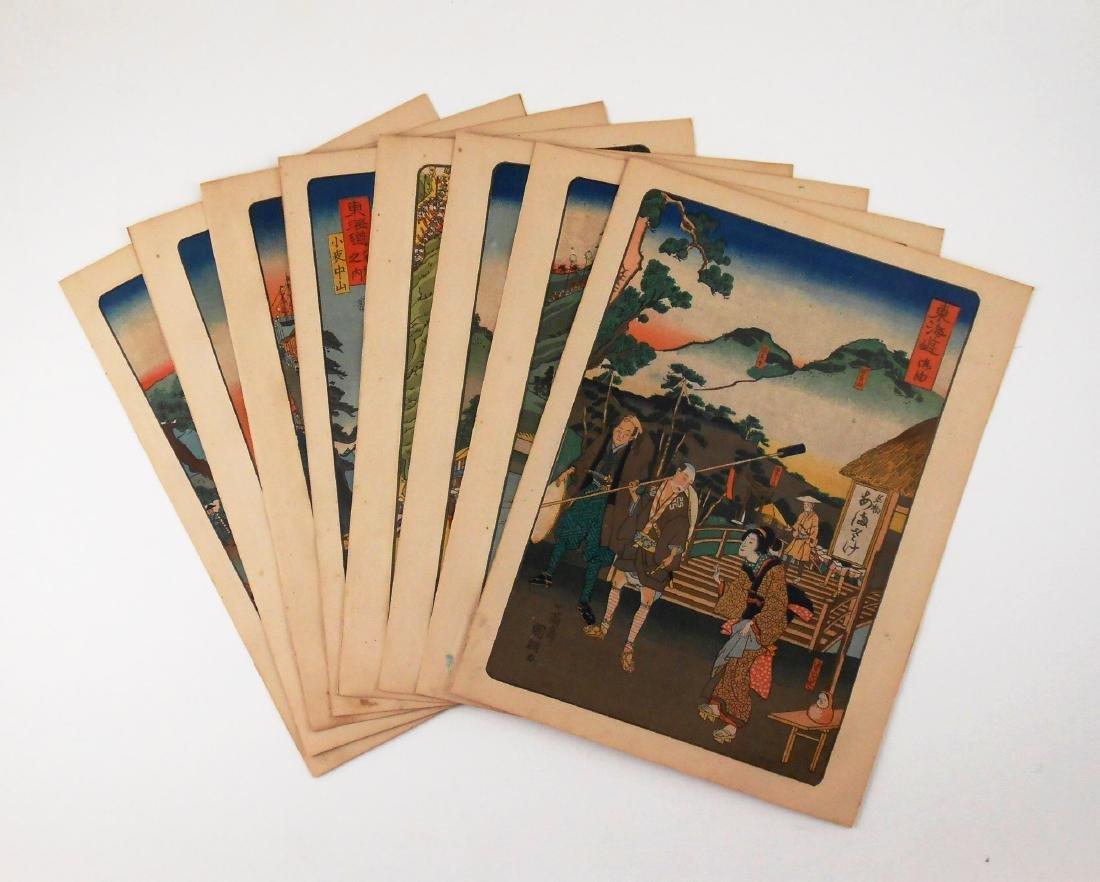 Japanese Woodblock Prints, Circa 1920