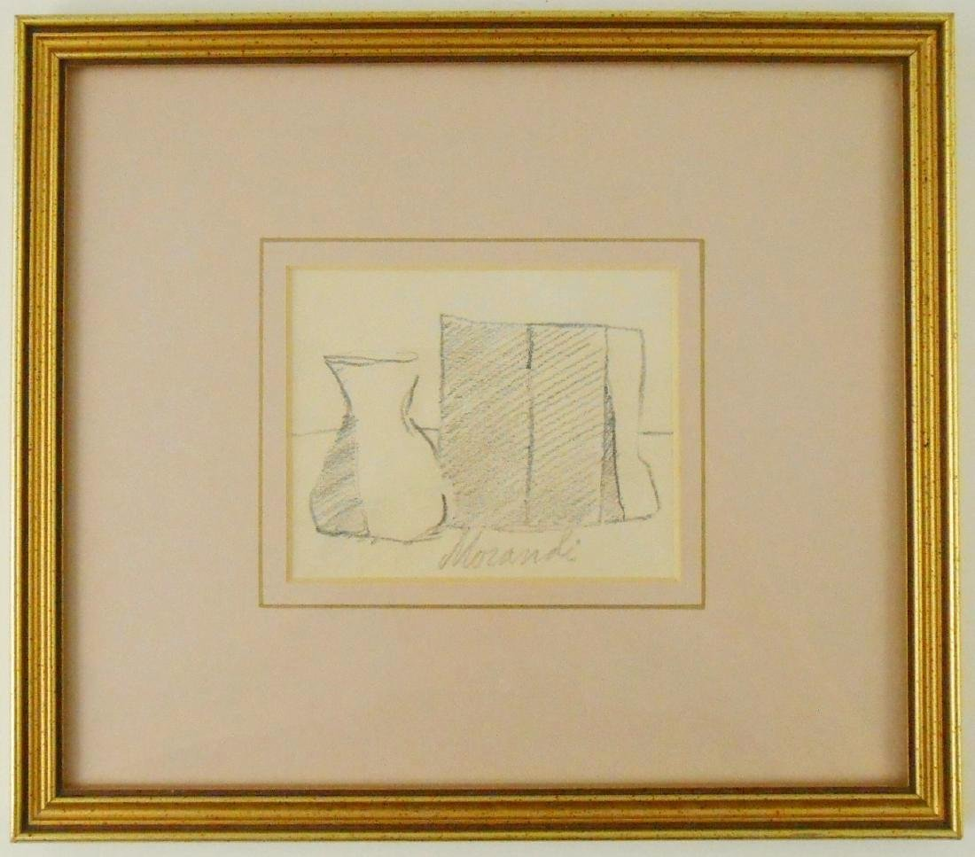 Giorgio Morandi (1890-1964) Pencil On Paper