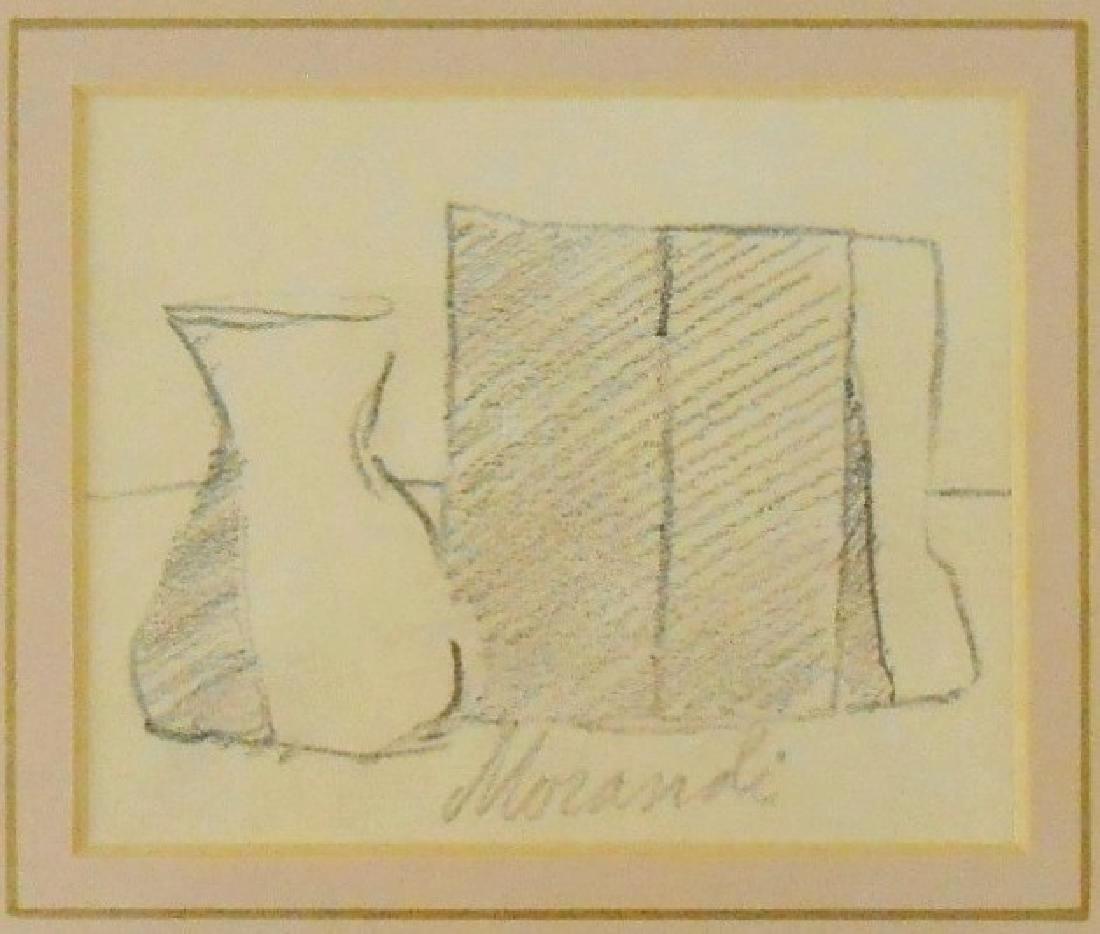 Giorgio Morandi (1890-1964) Pencil On Paper - 2