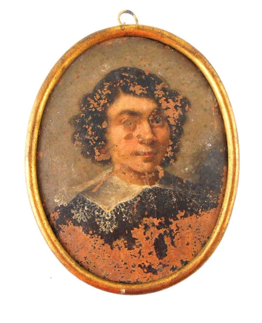Abraham Wolfgang Kuffner (1760-1817) Miniature