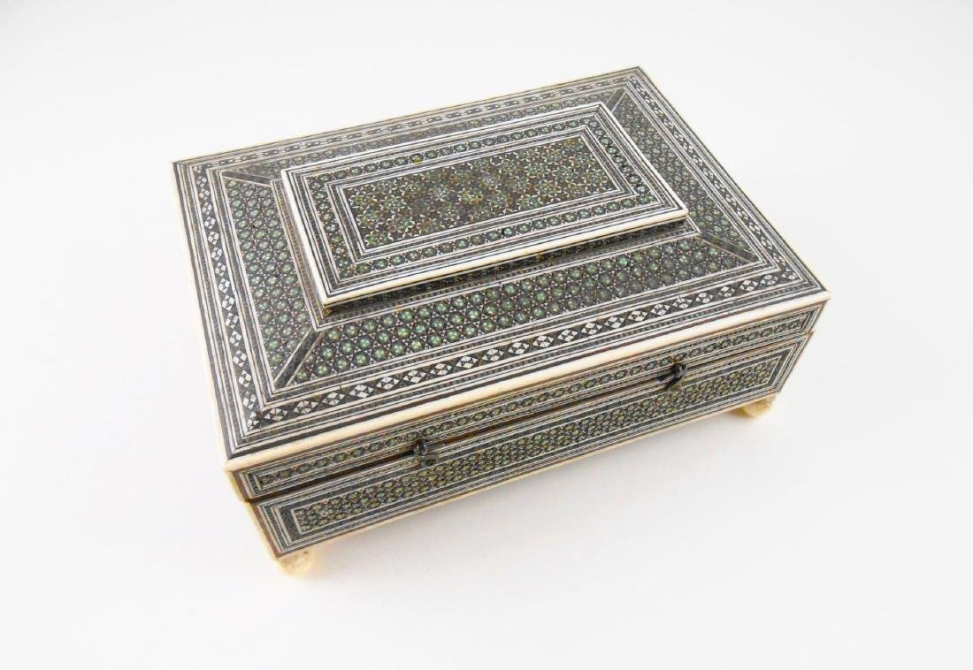 Antique Anglo-Indian Letter Box, 19th Century