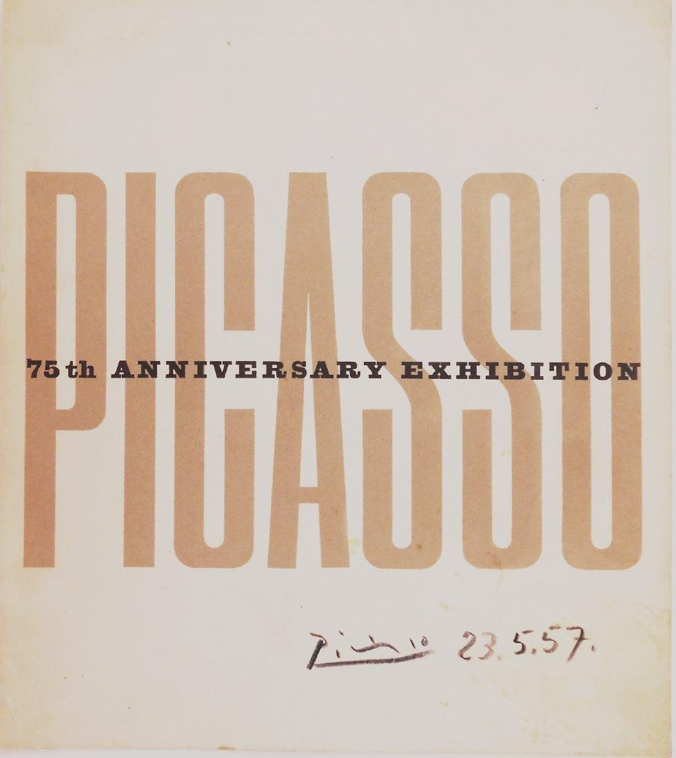 Pablo Picasso (1881-1973) Signed Exhibition Cover