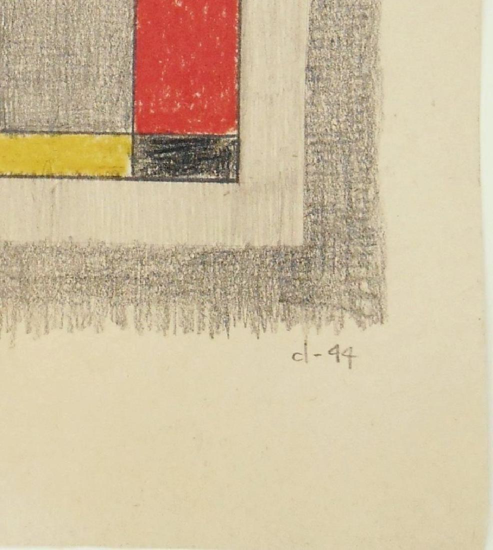 Burgoyne Diller (1906-1965) Colored Pencil - 2