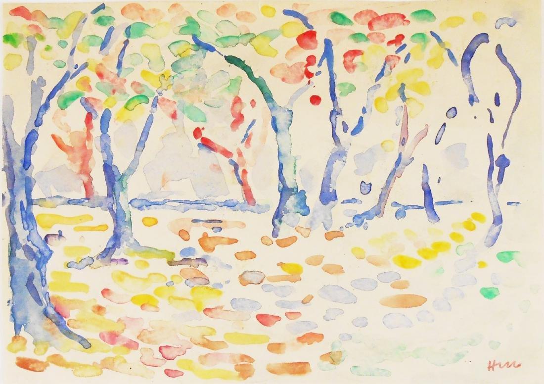 Henri Matisse (1869-1954) Early Watercolor