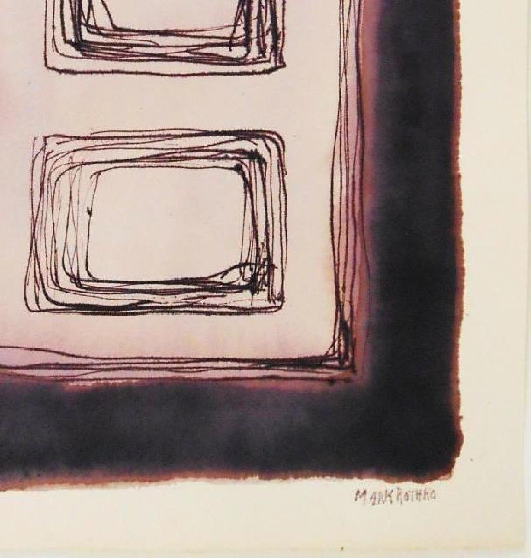 Mark Rothko (1903-1970) Ink On Paper - 2