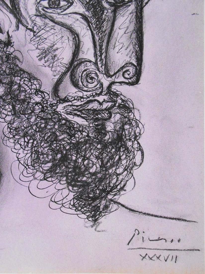 Pablo Picasso (1881-1973) Ink & Charcoal Drawing - 2