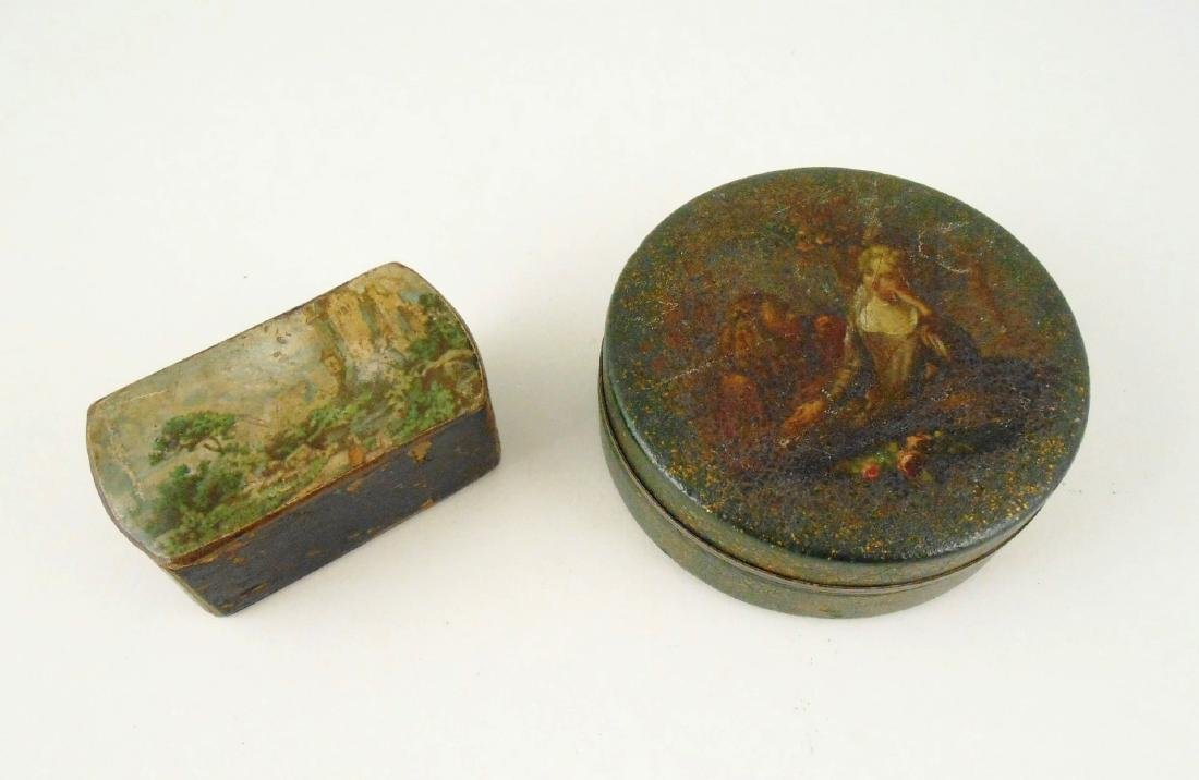 Two Antique Snuff Boxes