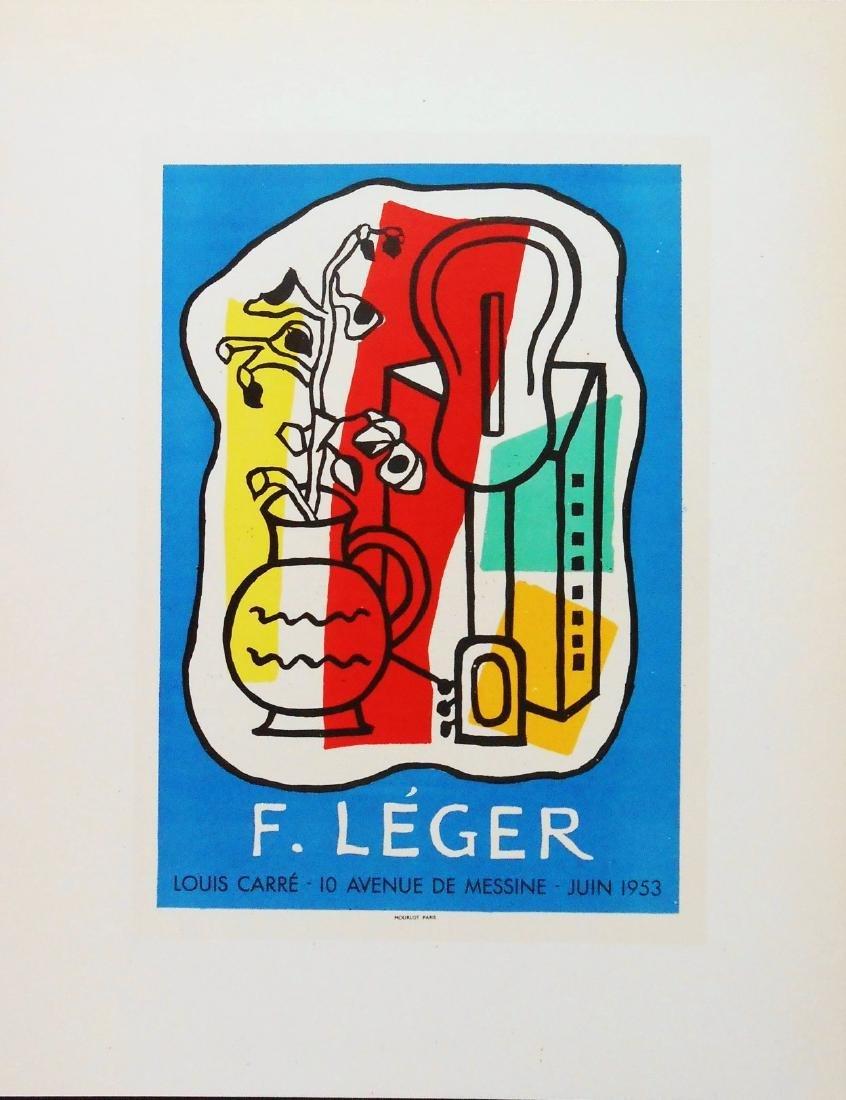 Fernand Leger Offset Color Lithograph