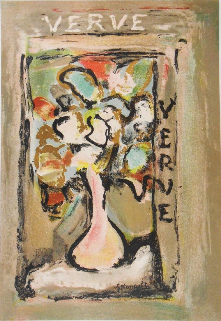 Georges Rouault (1871-1958) Color Lithograph
