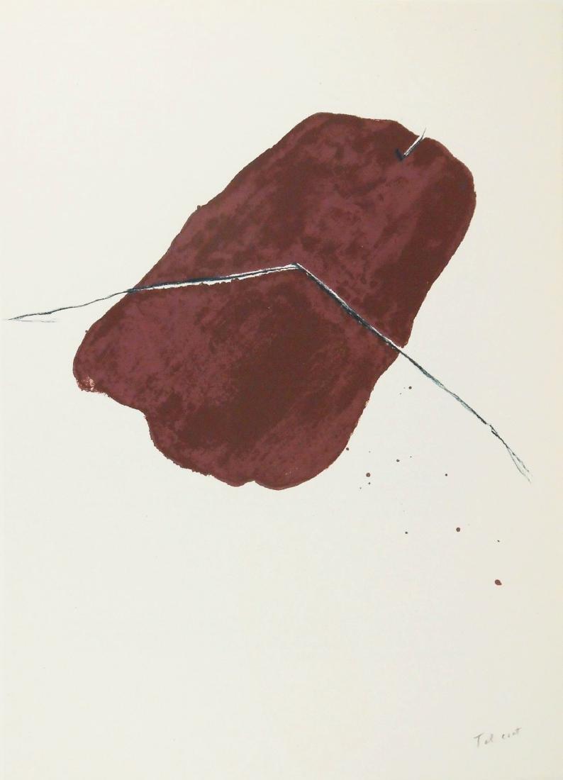 Pierre Tal-Coat (1905-1985) Color Lithograph