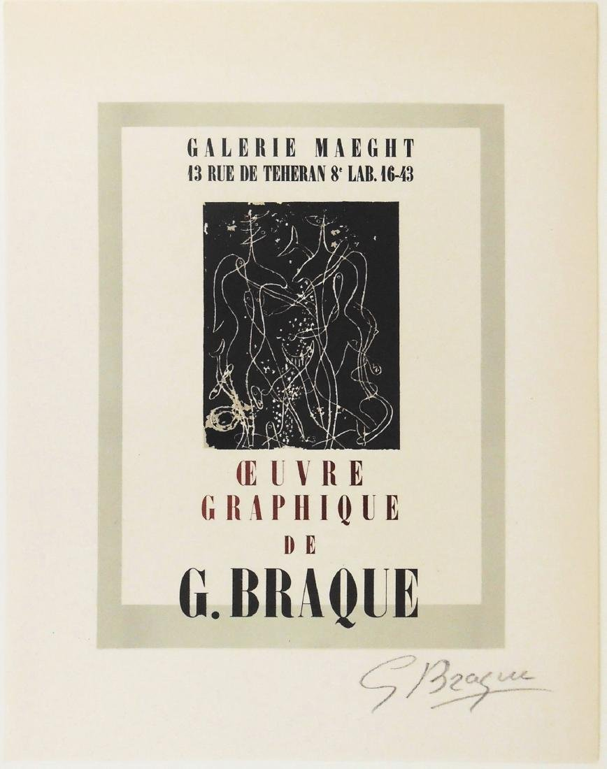 Georges Braque (1882-1963) Color Lithograph
