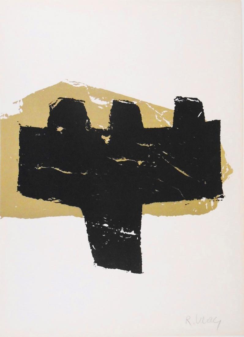 Raoul Ubac (1910-1985) Signed Color Lithograph