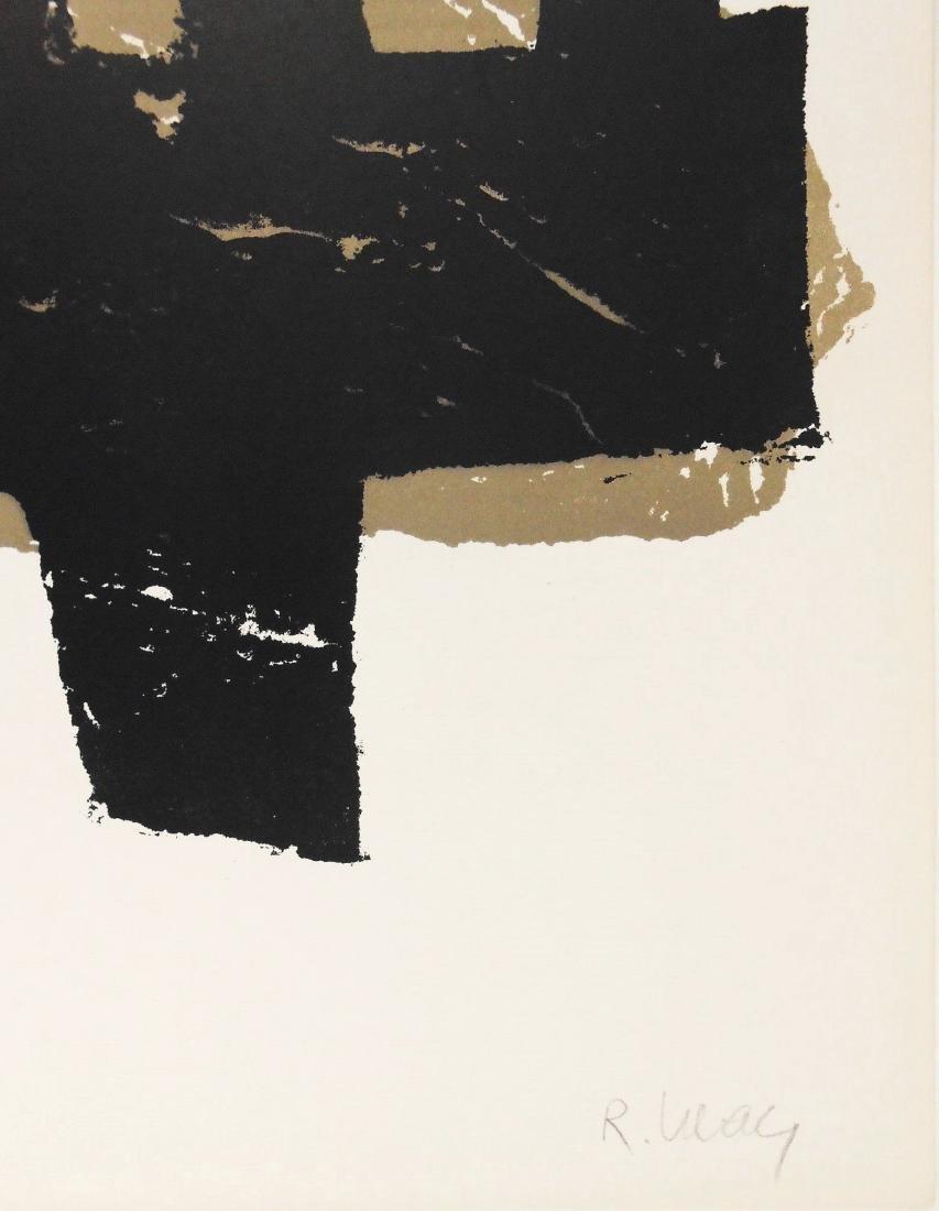 Raoul Ubac (1910-1985) Signed Color Lithograph - 2