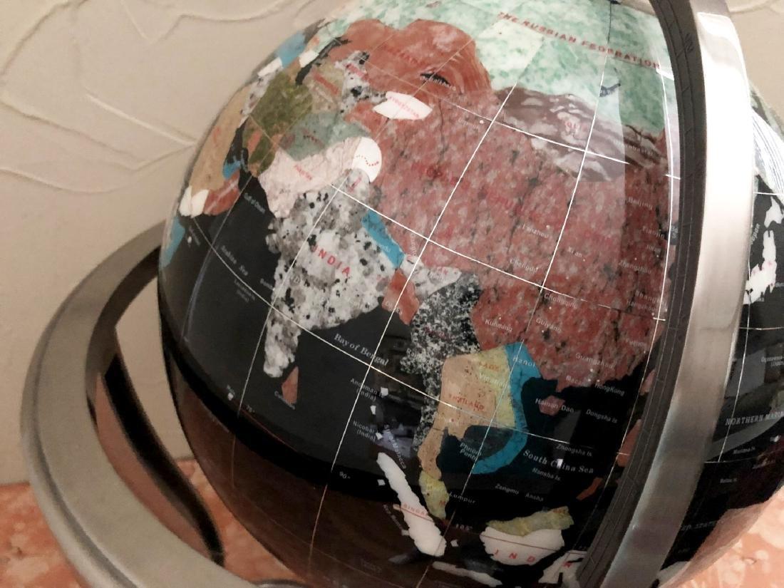 Specimen Mineral Globe - 2