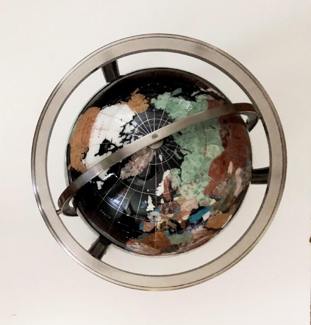 Specimen Mineral Globe - 3