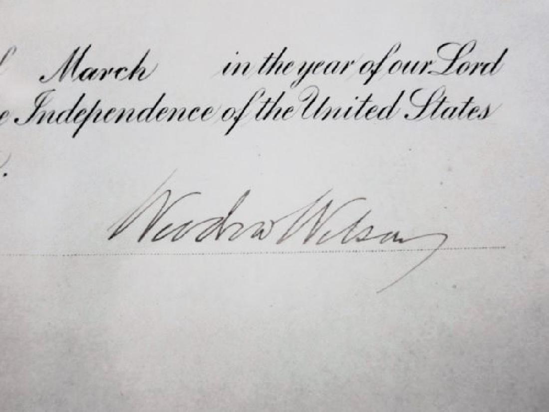 1915 Woodrow Wilson Presidential Document - 2