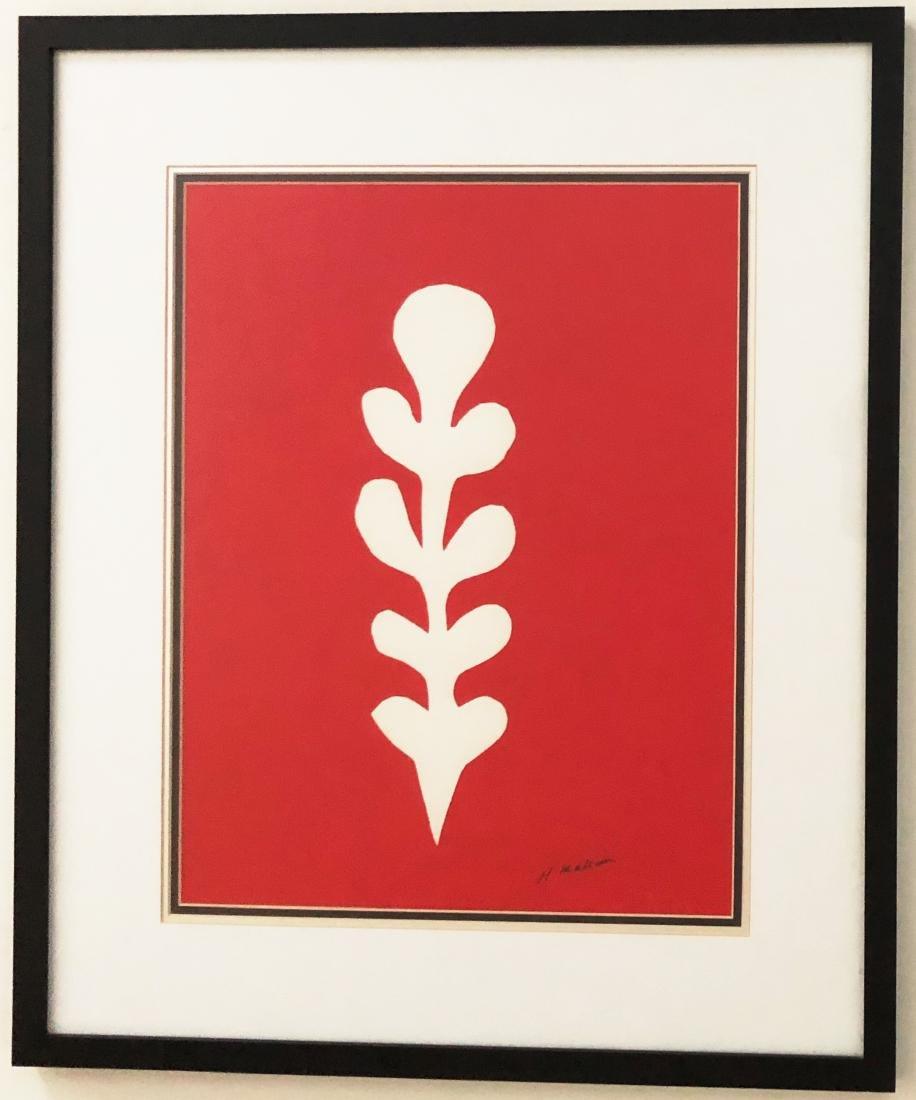 Henri Matisse (1869-1954) Color Print, Signed