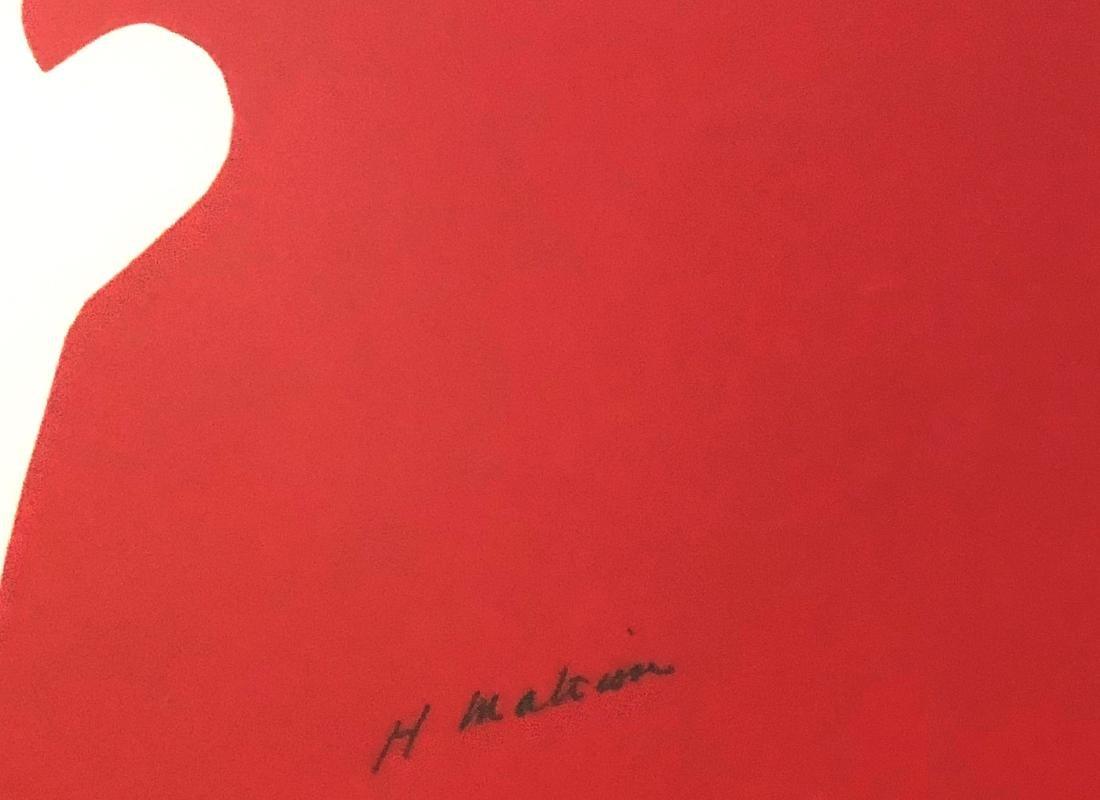 Henri Matisse (1869-1954) Color Print, Signed - 2