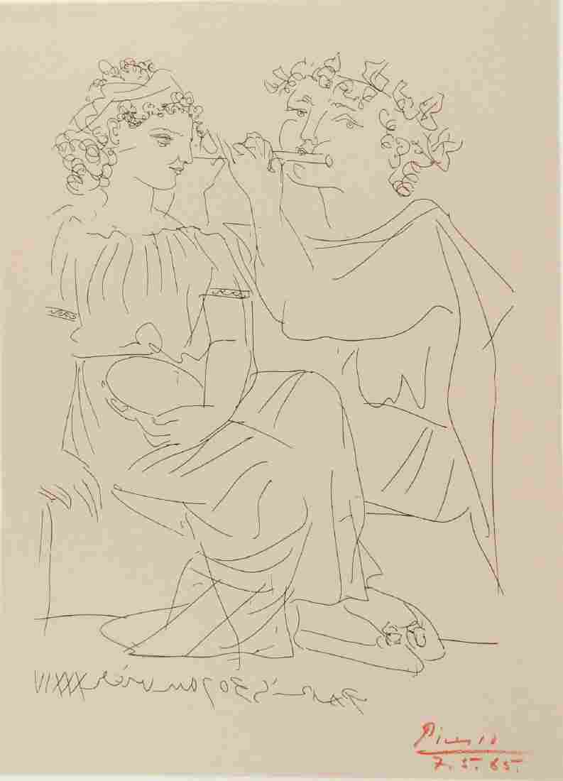 Pablo Picasso (1881-1973) Signed Print