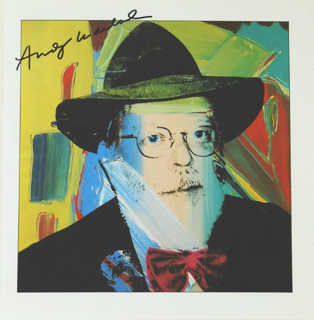 Andy Warhol (1928-1987) Signed Print