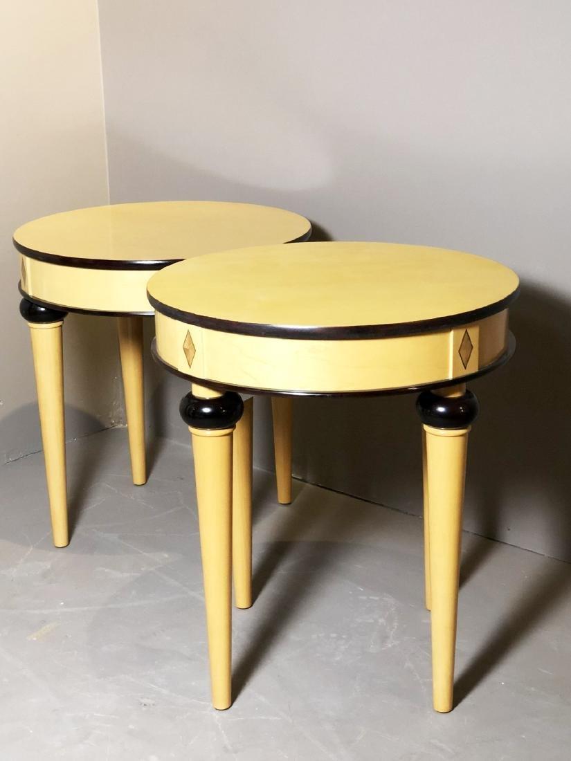 Pair Of Biedermeier-Style Side Tables