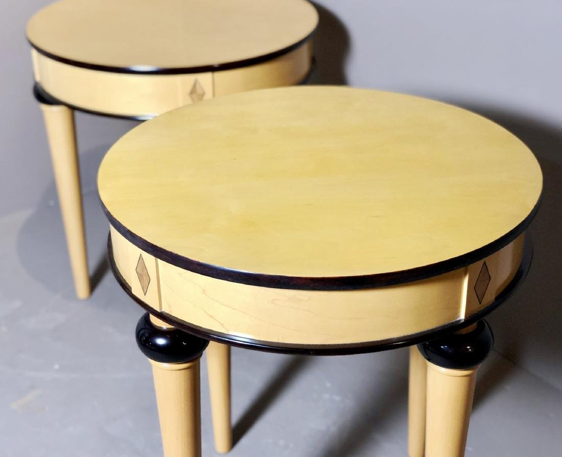 Pair Of Biedermeier-Style Side Tables - 2