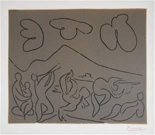 Pablo Picasso 18811973 Linocut