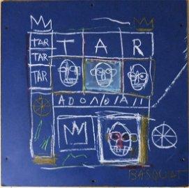 Jean-Michel Basquiat (1960-1988) Painted Panel