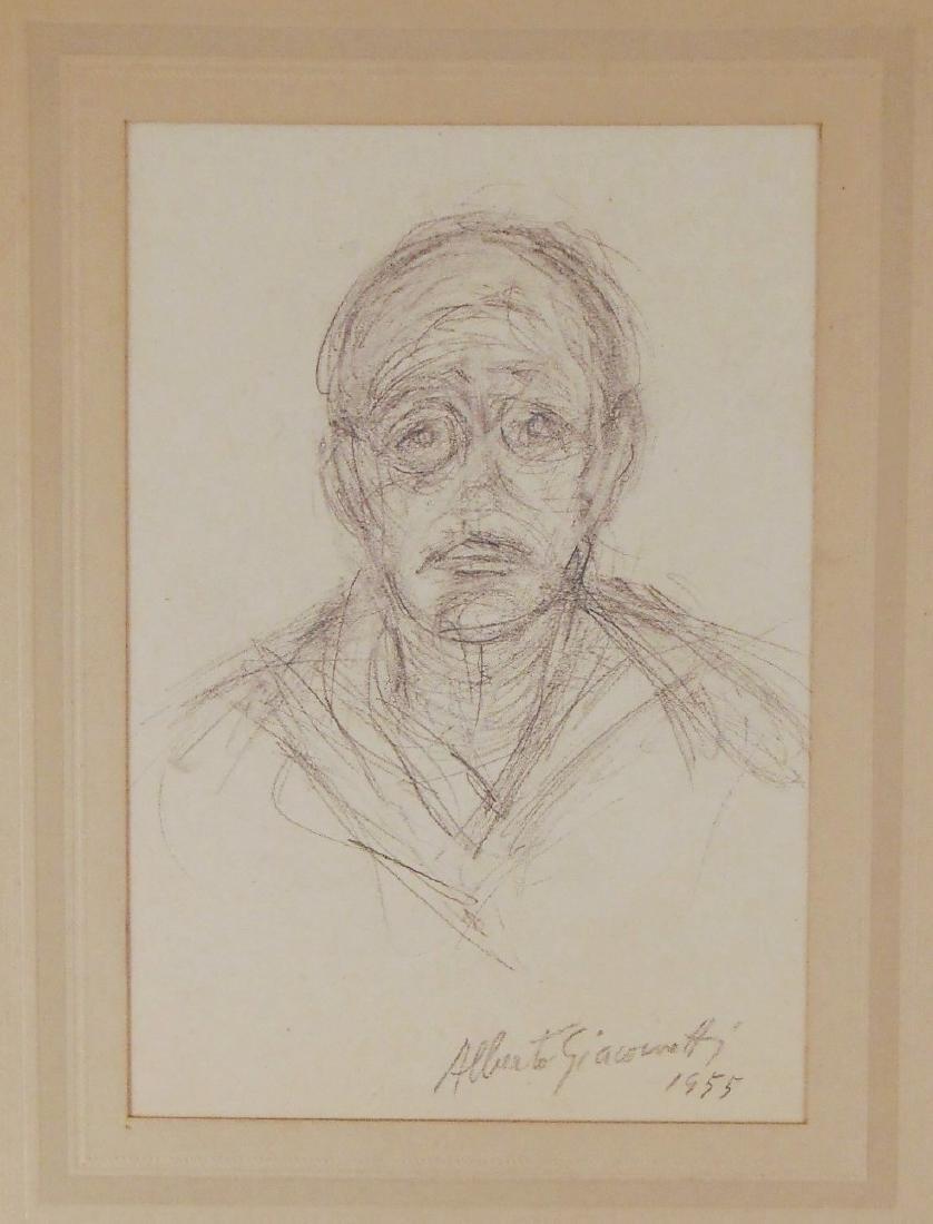 Alberto Giacometti (1901-1966) Pencil Drawing