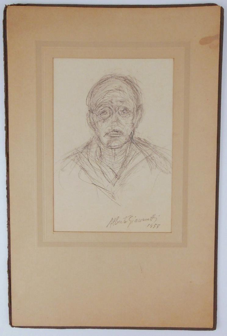 Alberto Giacometti (1901-1966) Pencil Drawing - 2