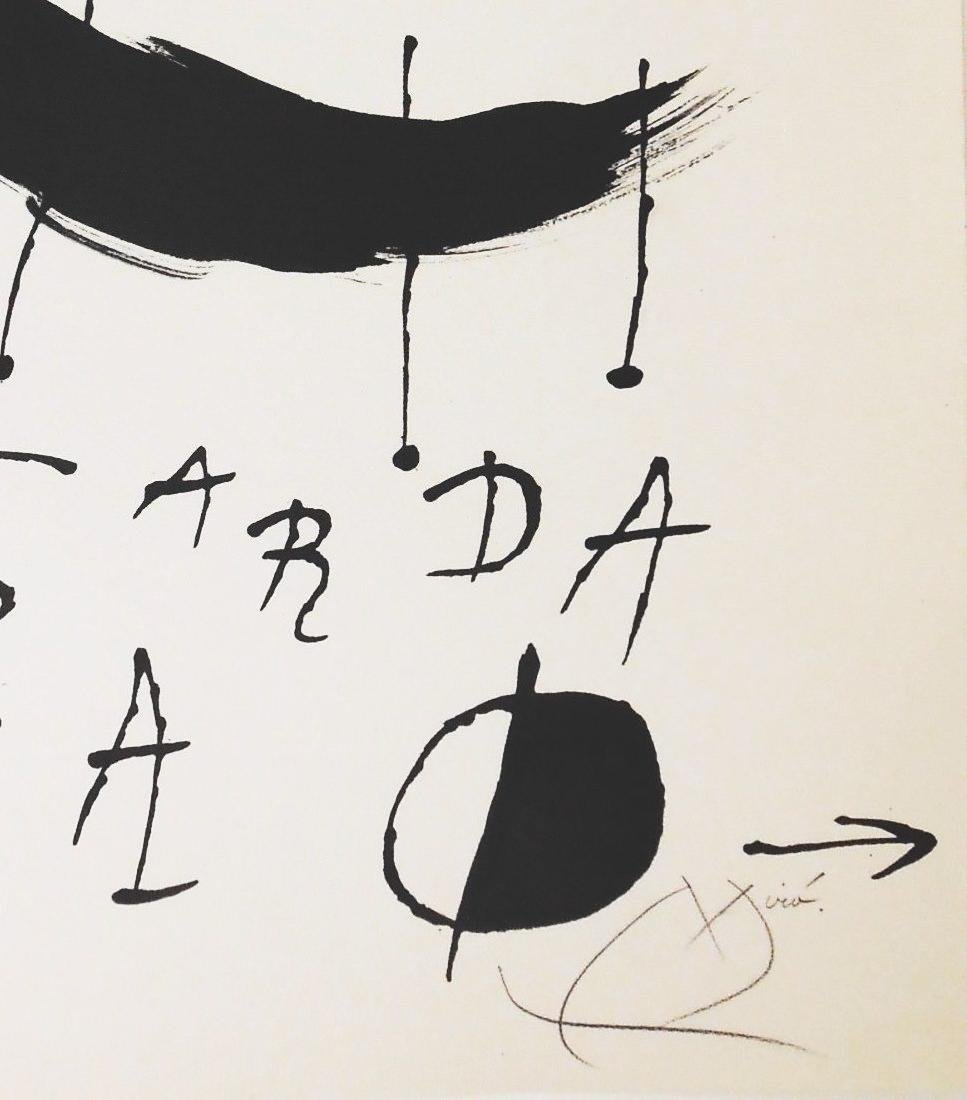 Joan Miro (1893-1983) Signed Lithograph - 2