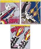 Roy Lichtenstein (1923-1997) Color Lithograph