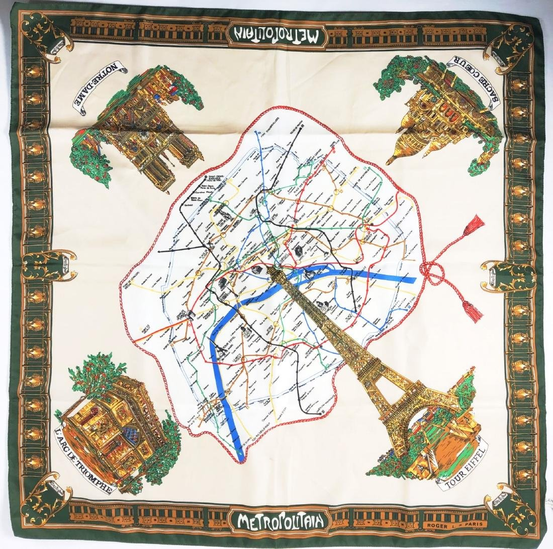 Italian Made Scarf Of Paris