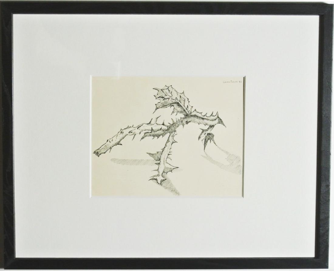 Lucian Freud (1922-2011) Pen & Ink Drawing