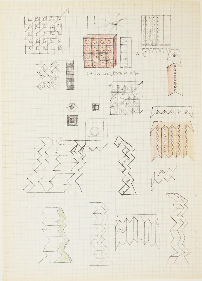 Pol Bury (1922-2005) Original Lithograph