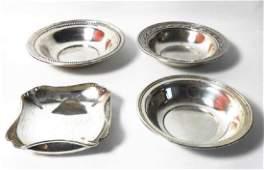 Randahl Sterling Silver Bowls (4)