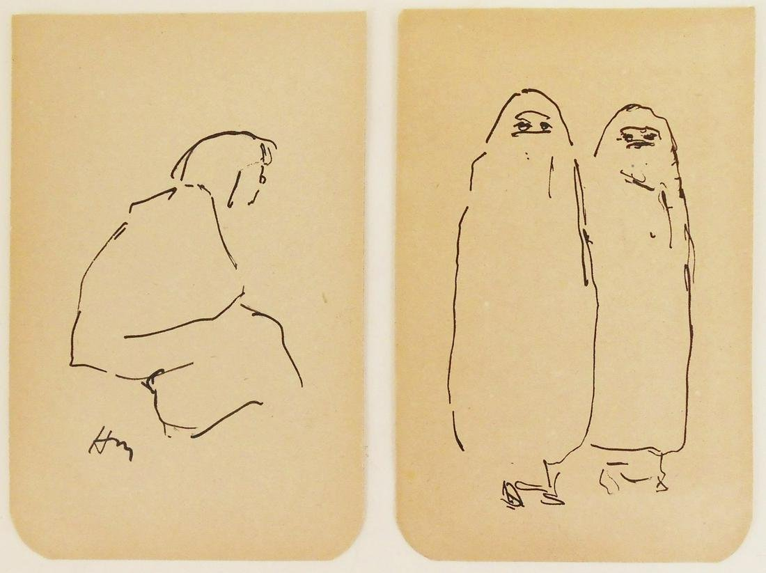 Henri Matisse (1869-1954) Pen & Ink Drawings (2)