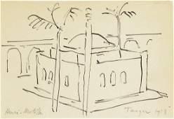 Henri Matisse 18691954 Pen  Ink Drawing
