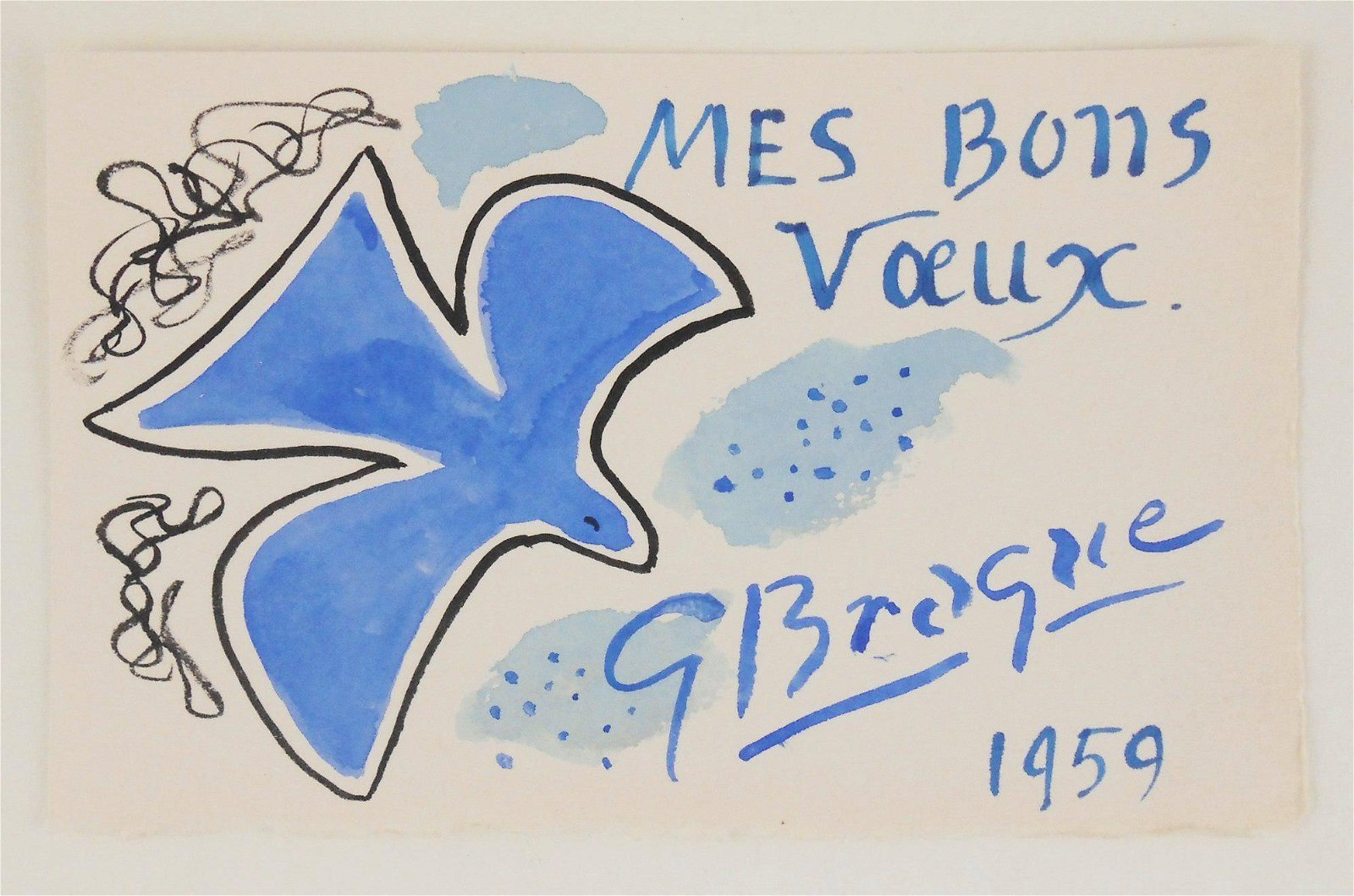 Georges Braque (1882-1963) Greeting Card