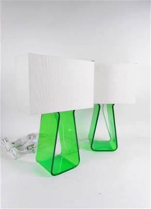 Pair Of Designer Table Lamps By Pardo